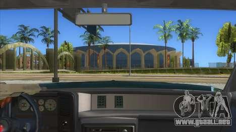 Chevrolet Monte Carlo 81 para visión interna GTA San Andreas