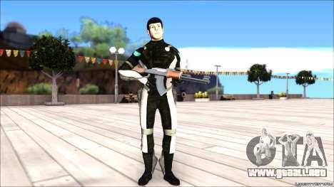 Star Trek Spock para GTA San Andreas segunda pantalla