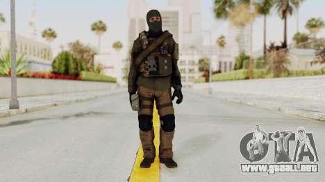 CoD AW KVA LMG para GTA San Andreas segunda pantalla