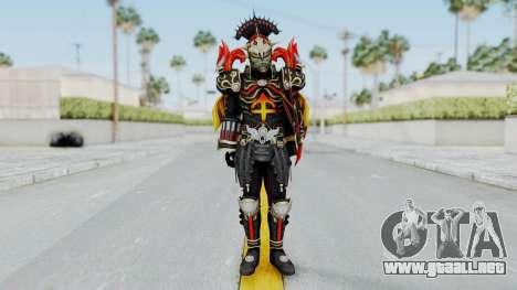 Sagitarius Zodiarts para GTA San Andreas segunda pantalla