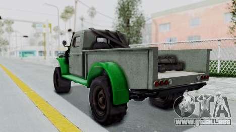 GTA 5 Bravado Duneloader Cleaner Worn IVF para GTA San Andreas left