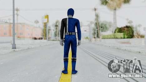 Power Rangers S.P.D - Blue para GTA San Andreas tercera pantalla