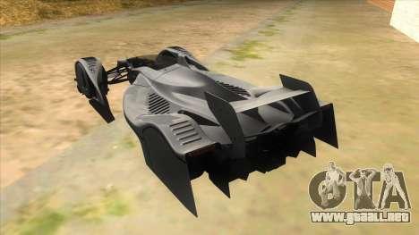 RedBull X2010 para GTA San Andreas vista posterior izquierda