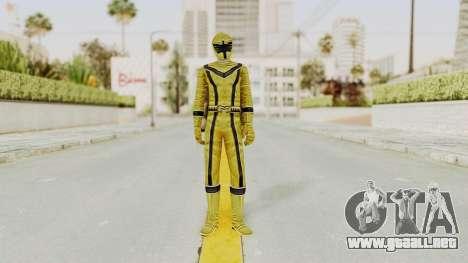 Power Rangers Mystic Force - Yellow para GTA San Andreas segunda pantalla