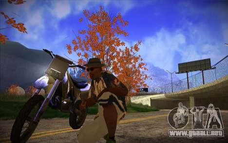 ENB Series by TURBO MIX para GTA San Andreas segunda pantalla