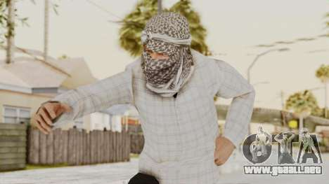 Middle East Insurgent v3 para GTA San Andreas