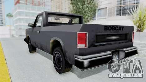 Beta VC Bobcat para GTA San Andreas left