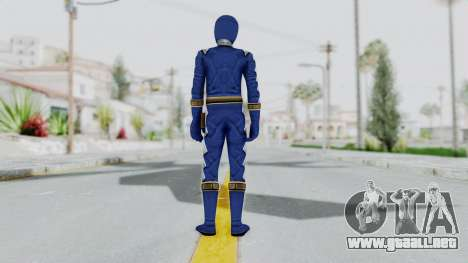 Power Rangers Dino Thunder - Blue para GTA San Andreas tercera pantalla