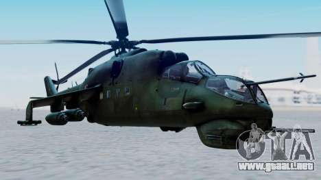 Mi-24V Polish Air Force 727 para GTA San Andreas