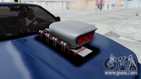 Nissan Silvia S13 Monster Truck para GTA San Andreas vista hacia atrás