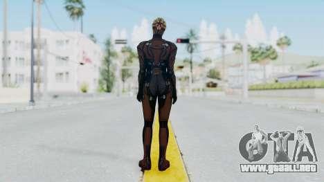 Mass Effect 1 Asari Clone Commando para GTA San Andreas tercera pantalla