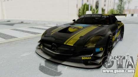 Mercedes-Benz SLS AMG GT3 PJ7 para el motor de GTA San Andreas
