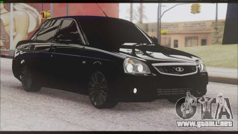 Lada Priora Sedan para visión interna GTA San Andreas
