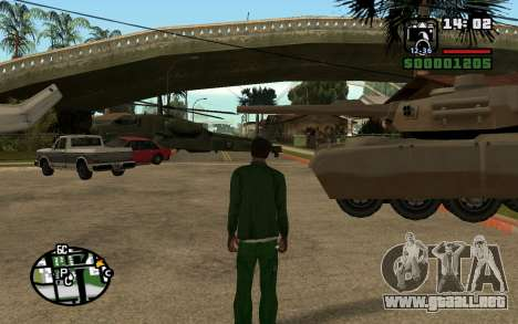Eazy Vehicle Mod v1.0 para GTA San Andreas