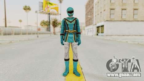 Power Rangers Mystic Force - Blue para GTA San Andreas segunda pantalla