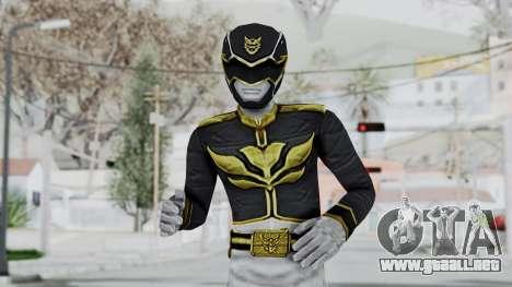 Power Rangers Megaforce - Black para GTA San Andreas