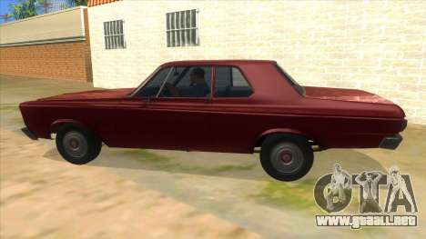 1965 Plymouth Belvedere 2-door Sedan para GTA San Andreas left