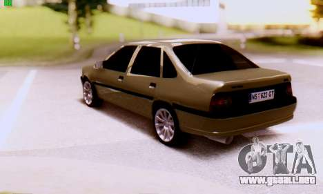 Opel Vectra A para GTA San Andreas left