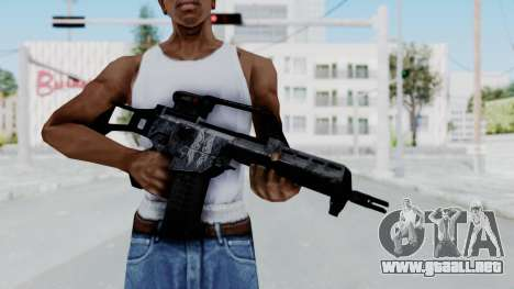 G36E Valkyrie Paintjob para GTA San Andreas