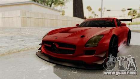 Mercedes-Benz SLS AMG GT3 PJ2 para GTA San Andreas vista posterior izquierda