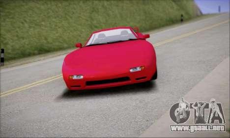 ZR - 350 para GTA San Andreas vista posterior izquierda