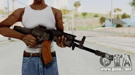 Black Ops 3 - KN-44 para GTA San Andreas tercera pantalla