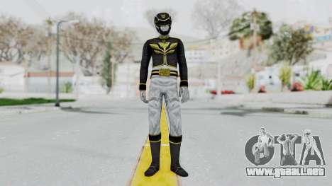 Power Rangers Megaforce - Black para GTA San Andreas segunda pantalla