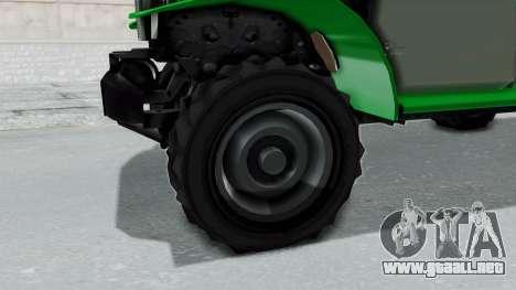 GTA 5 Bravado Duneloader Cleaner IVF para GTA San Andreas vista hacia atrás