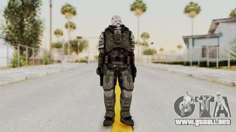 F.E.A.R. 2 - Replica Heavy Soldier para GTA San Andreas segunda pantalla