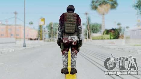 Black Mesa - Wounded HECU Marine Medic v1 para GTA San Andreas tercera pantalla