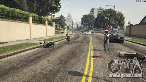GTA 5 More crime mod 1.1a sexta captura de pantalla