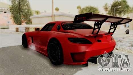 Mercedes-Benz SLS AMG GT3 PJ2 para GTA San Andreas left