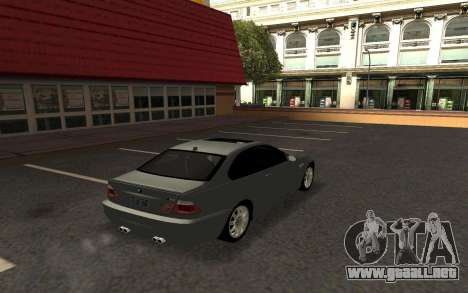 BMW M3 E46 Tunable para GTA San Andreas left