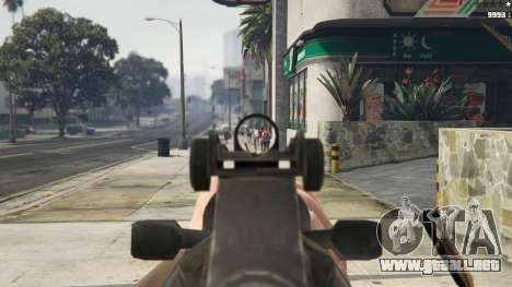 Bioshock Infinite - Carbine Rifle para GTA 5