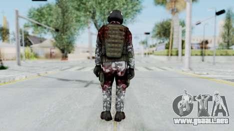 Black Mesa - Wounded HECU Marine Medic v2 para GTA San Andreas tercera pantalla