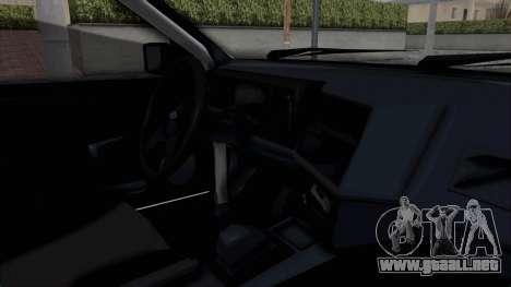 Ford Sierra Turnier 4x4 Saphirre Cosworth para visión interna GTA San Andreas