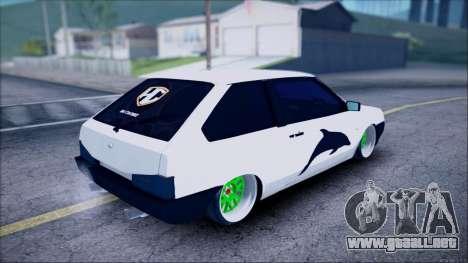 VAZ 2108 Lambo para GTA San Andreas left