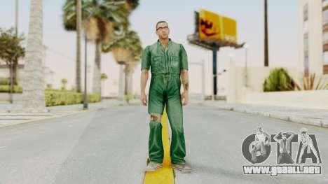 Manhunt 2 - Danny Prison Outfit para GTA San Andreas segunda pantalla