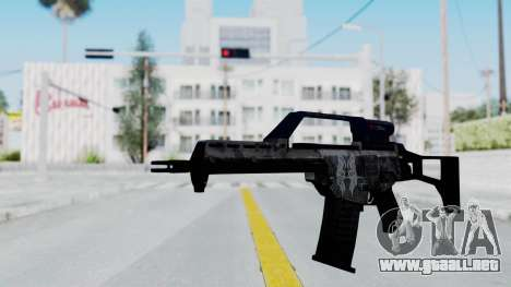G36E Valkyrie Paintjob para GTA San Andreas segunda pantalla