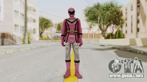 Power Rangers Mystic Force - Pink para GTA San Andreas segunda pantalla