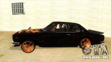 1971 Nissan GT-R Hakosuka para GTA San Andreas left