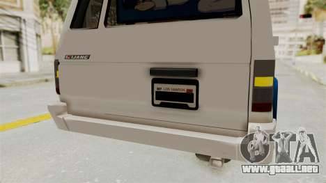 Toyota Kijang Miku Itasha Version para GTA San Andreas interior
