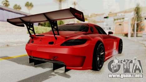Mercedes-Benz SLS AMG GT3 PJ2 para la visión correcta GTA San Andreas