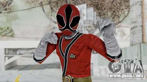 Power Rangers Samurai - Red para GTA San Andreas