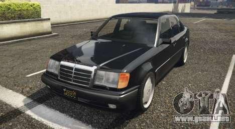 Mercedes-Benz E500 para GTA 5