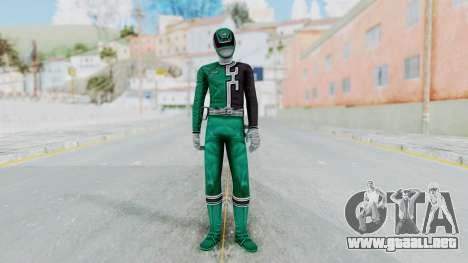 Power Rangers RPM - Green para GTA San Andreas segunda pantalla
