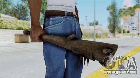 Skyrim Iron Club para GTA San Andreas tercera pantalla