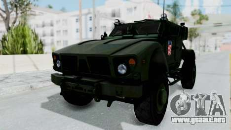 Croatian Oshkosh M-ATV Woodland para GTA San Andreas