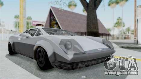 GTA Vice City - Infernus para la visión correcta GTA San Andreas