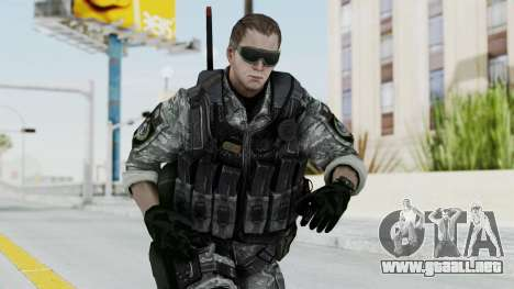 Battery Online Soldier 4 v1 para GTA San Andreas